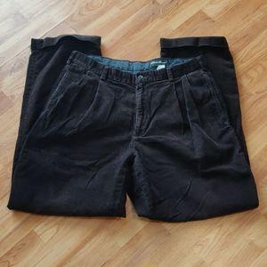 Men's brown courderoy pants
